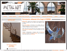 Tablet Preview of metalart.fr